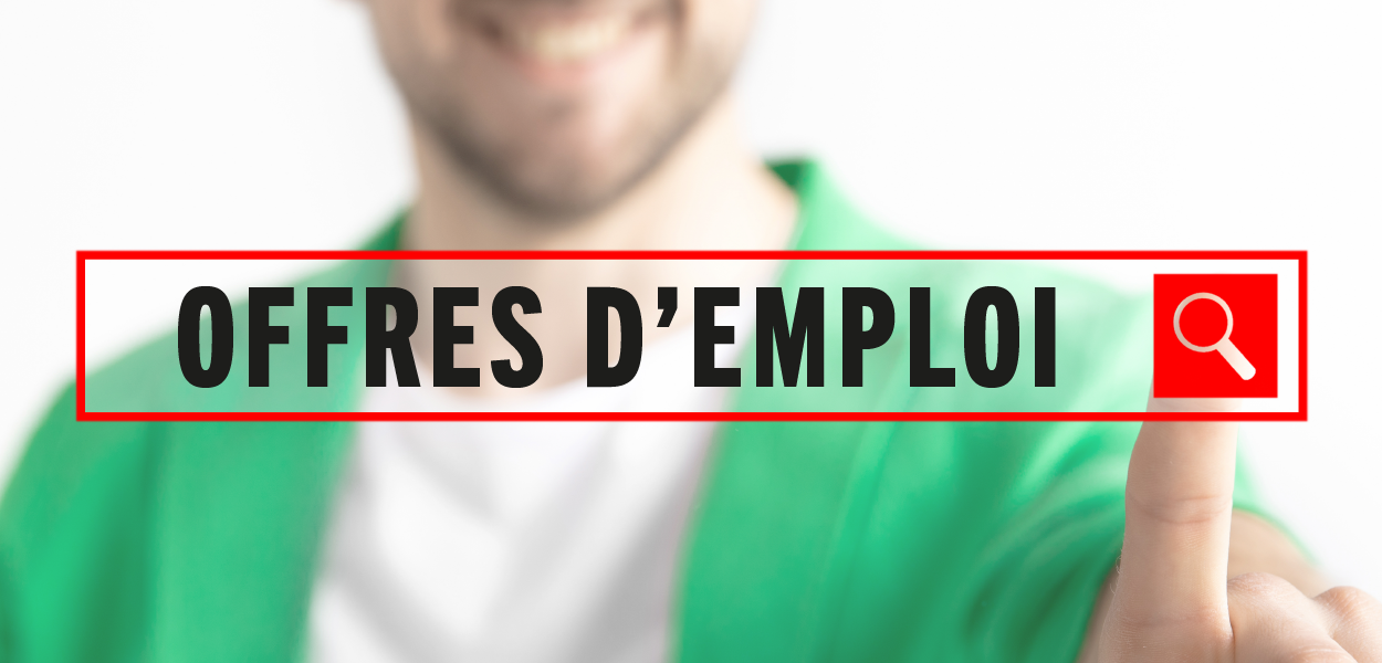 Offres d'emploi – été 2021