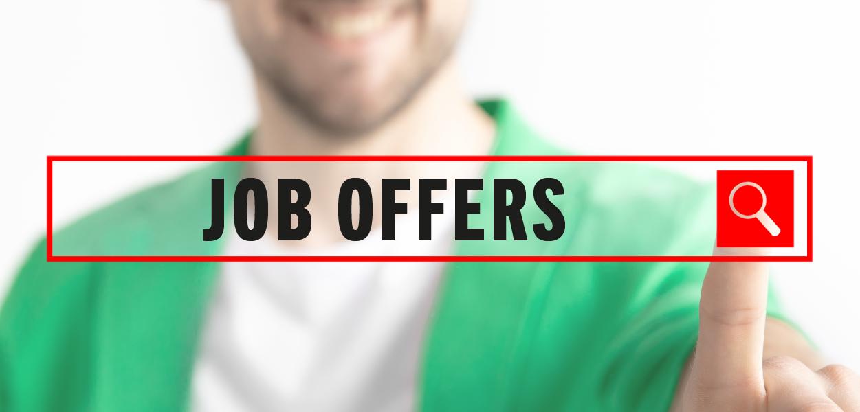 Job offers – summer 2021