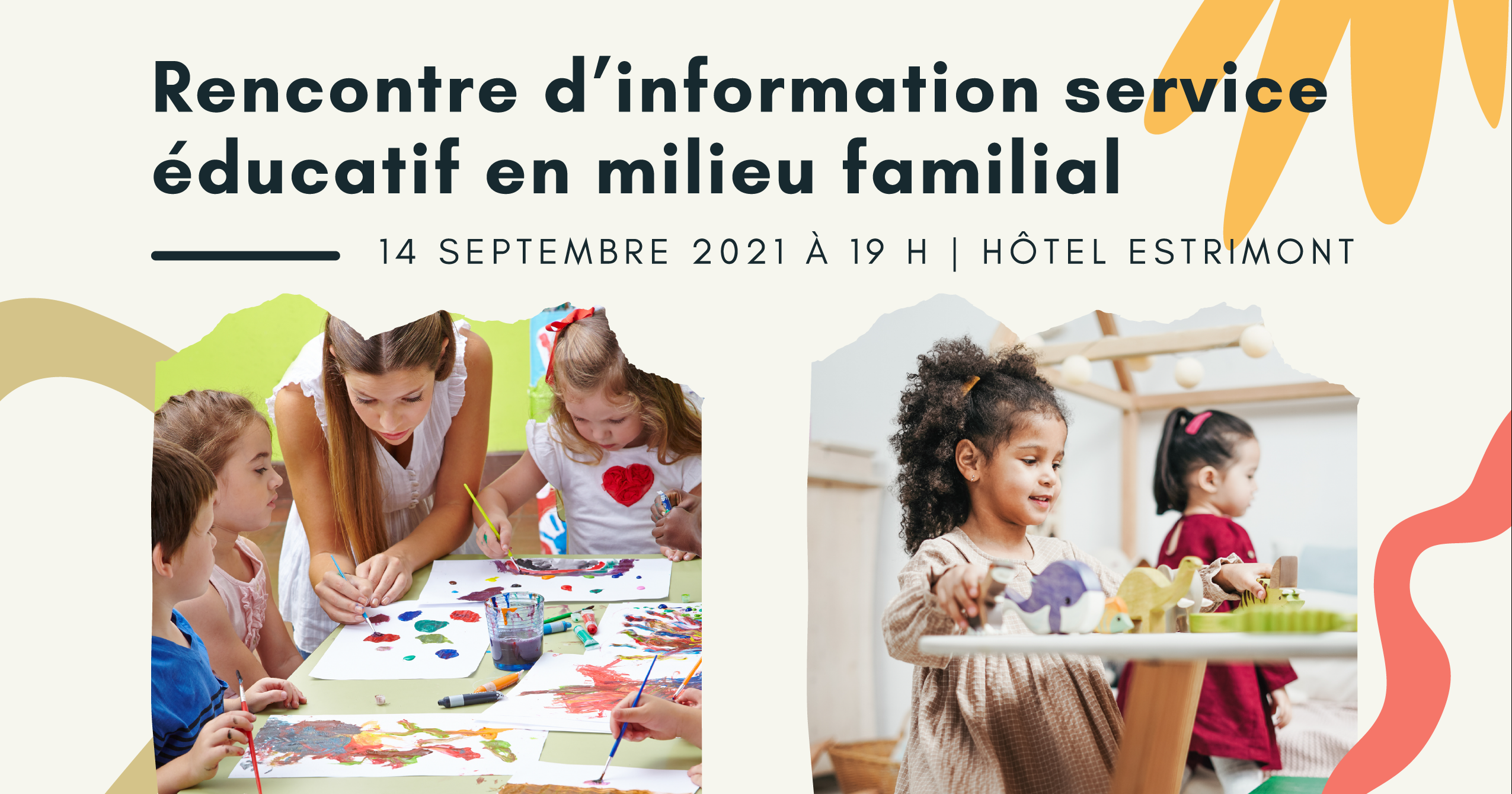 Family-based educational service information meeting